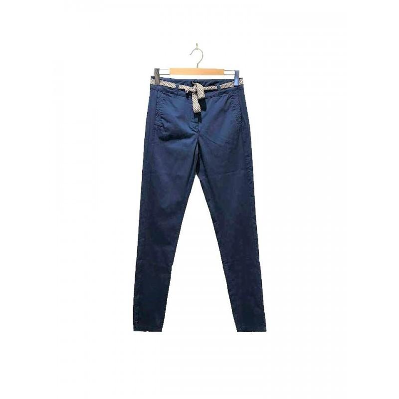 Pantalon bleu POLDERA - Maé Mahé
