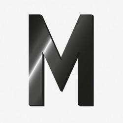 """Lettre adhesive """"M"""" - Legami"""