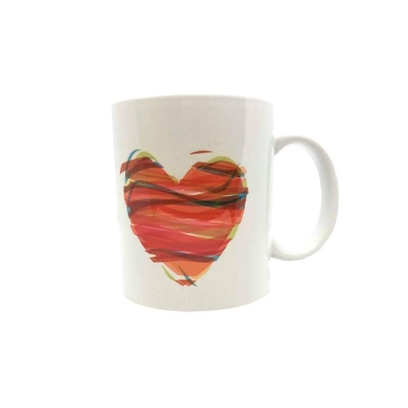 Mug - Coeur multi