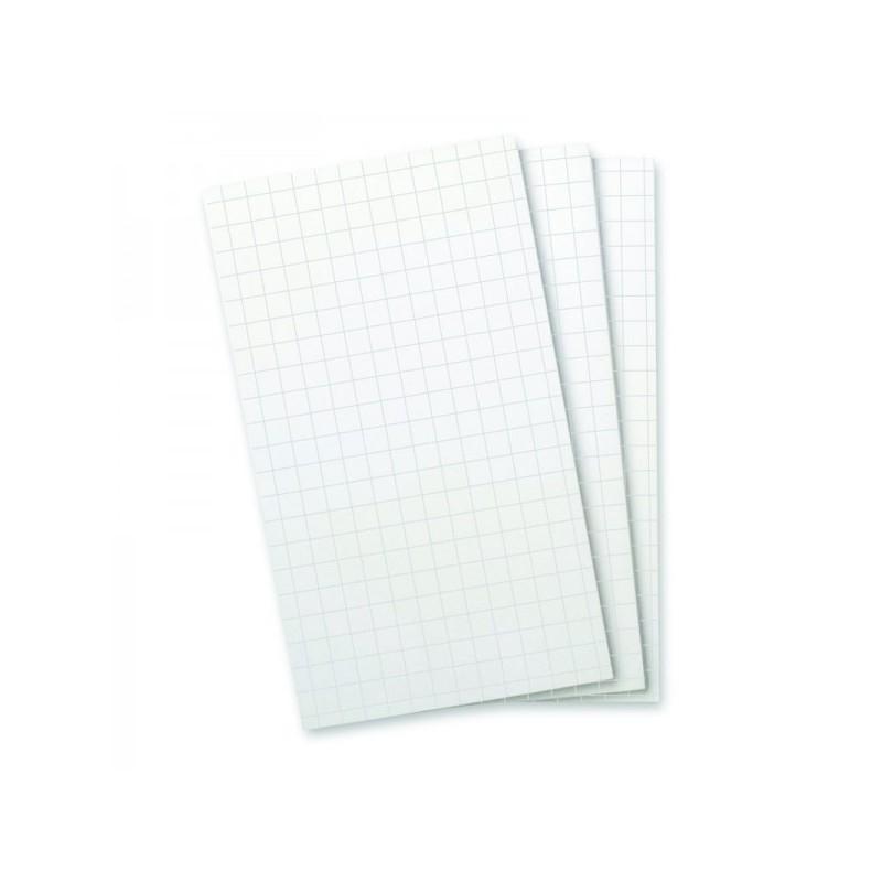 Recharges bloc-note feuilles quadrillées - Wellspring