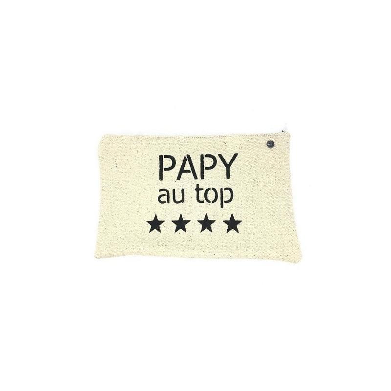 Pochette médium Papy au top - Lulu en Provence