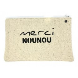 Pochette médium Super nounou - Lulu en Provence