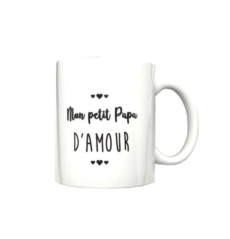 Mug Mon Petit Papa Damour Jaines Co Achat En Ligne Jaines