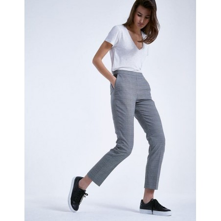 Pantalon à carreaux BP22145 - IKKS Women