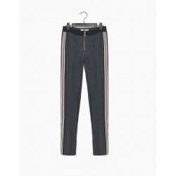 Jegging gris chiné XP23014 - IKKS Junior