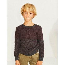 Pull tricot prune XP18063 - IKKS Junior