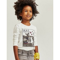 Top blanc cassé XP10042 - IKKS Junior