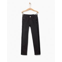 Jean sequins noir XP29032 - IKKS Junior