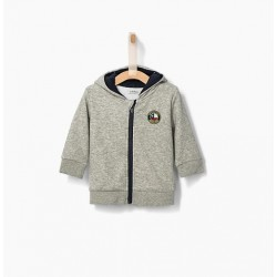 Cardigan gris chiné XP17001 - IKKS Junior