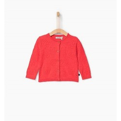 Cardigan tricot corail XP18010 - IKKS Junior