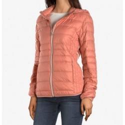 Doudoune à capuche rose PB900 - C'est Beau la Vie