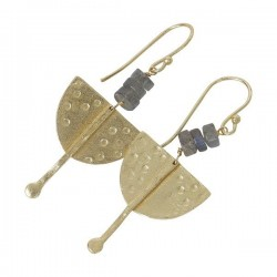 Boucles d'oreilles JESSICA Silver - The Moshi