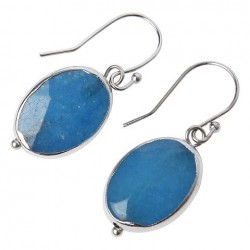 Boucles d'oreilles NICOLE Turquoise - The Moshi