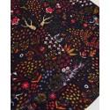 Foulard rouge JOSI121 - Surkana
