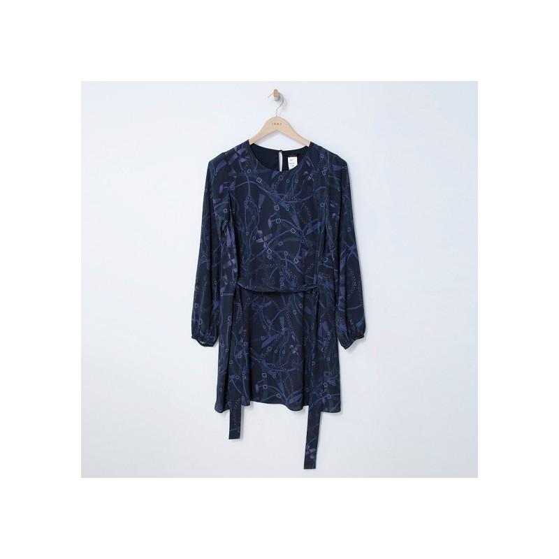 Robe marine BP30685 - IKKS Women