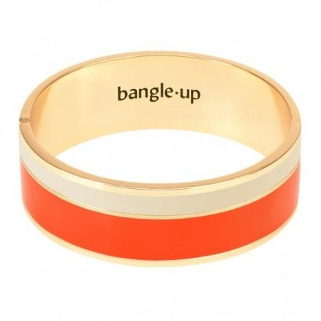 Vaporetto Tangerine/Blanc Sable - bangle up