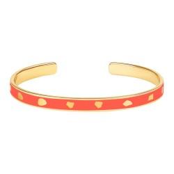 Jonc bracelet Jude Paprika- Bangle up