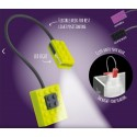 Lampe de lecture Light Block violet - Catwalk