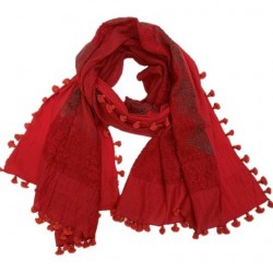 charpe-Foulard-Storiatipic-Aurore-rouge