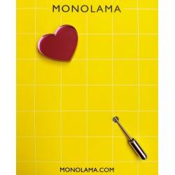 Monolama-Broche-coeur-Rose