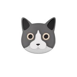 Monolama-Broche-Chat-gris