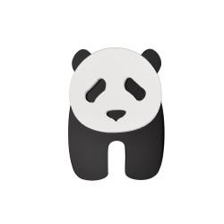 Monolama-Broche-Panda