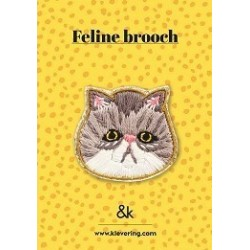 Broche Chat - &K amsterdam