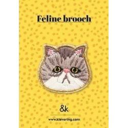 Broche Chat - &K amsterdam