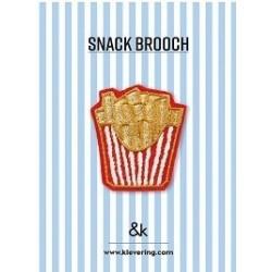 Broche Frites - &K amsterdam