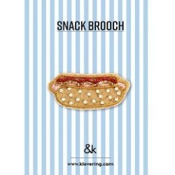 Broche Hot Dog - &K amsterdam