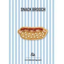 Broche Hot Dog - &K amsterdam