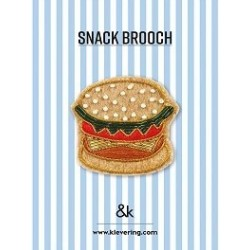 Broche Hamburger - &K amsterdam
