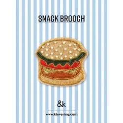 Broche Hamburger - &K...