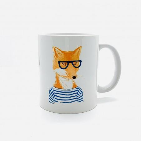 Mug - Renard A Lunettes