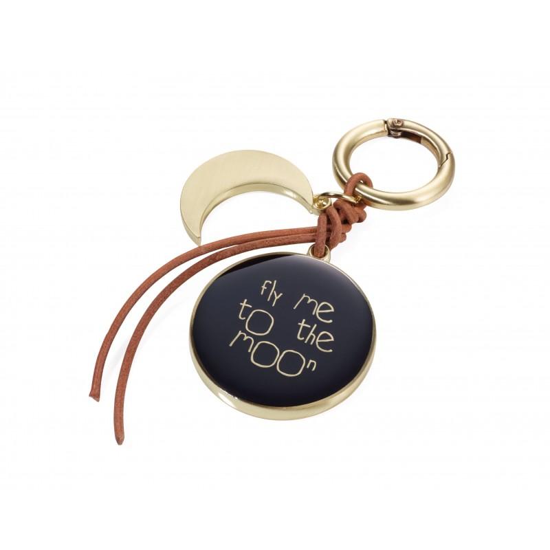 Porte-clés/ Bijoux de sacs FLY ME TO THE MOON