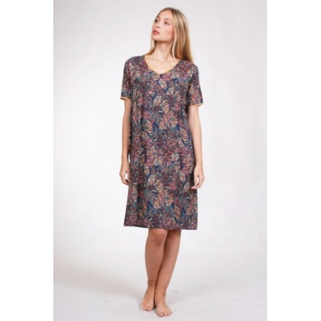 Robe imprimée R472 - Thalassa
