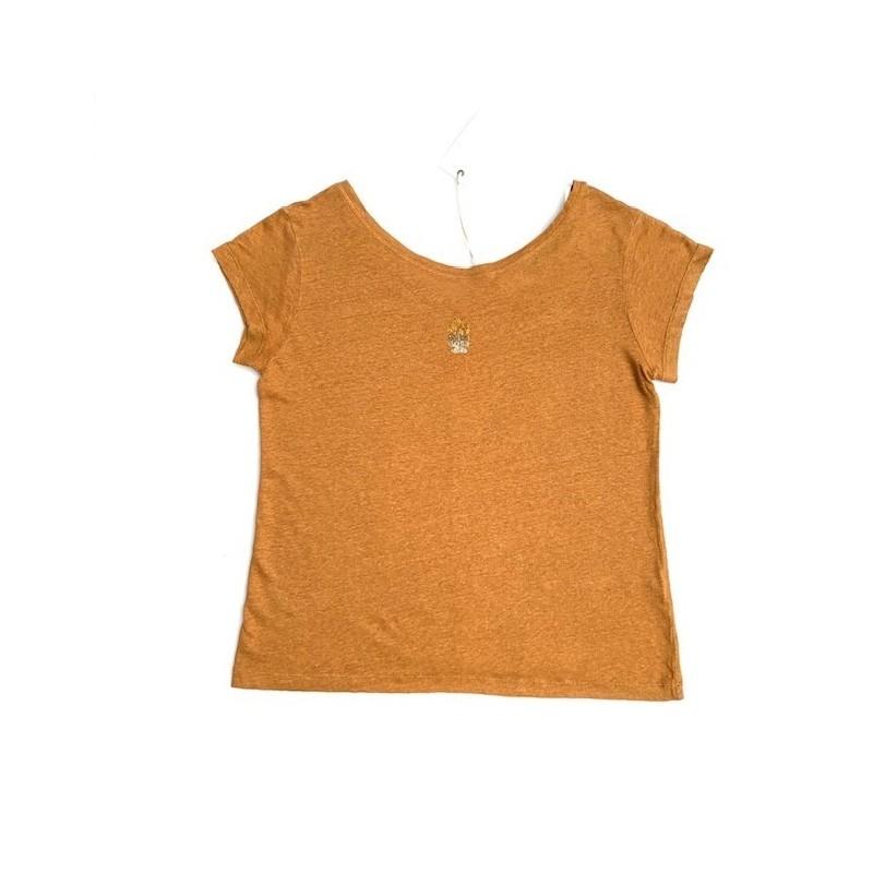 T-shirt miel DTS081 - Diplodocus