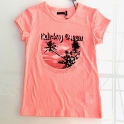 Tee-shirt rose XN10642 - IKKS Junior