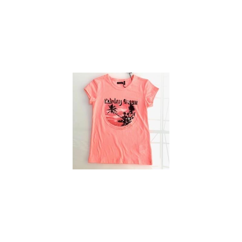 Tee-shirt rose XN10642 - IKKS Junior