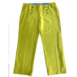 Pantalon vert PONT - Aventures des Toiles