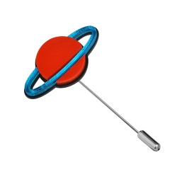Broche Saturne - Monolama