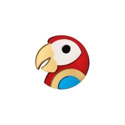 Broche Tête de Perroquet - Monolama
