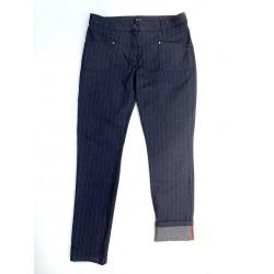 Pantalon rayé bleu POLOF - Maé Mahé