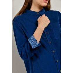 Chemise bleu electric CHASE - Mat de Misaine