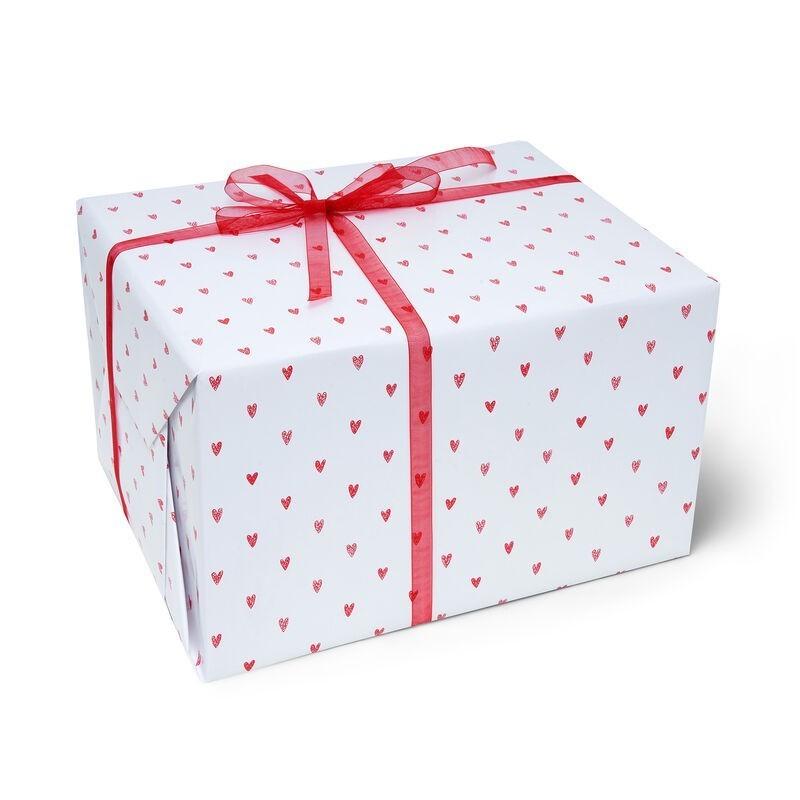 Rouleau papier cadeau COEURS - Legami