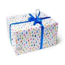 Rouleau papier cadeau GOUTTES - Legami