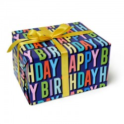 Rouleau papier cadeau HAPPY BIRTHDAY - Legami