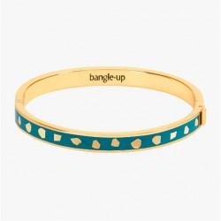 Bracelet Jude Bleu canard - Bangle up