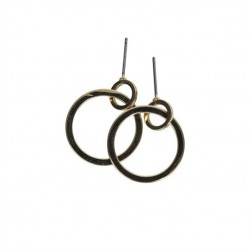 Boucles d'oreilles CARLY Gold - The Moshi
