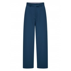 Pantalon large bleu 20W6601 - Funky Flavours